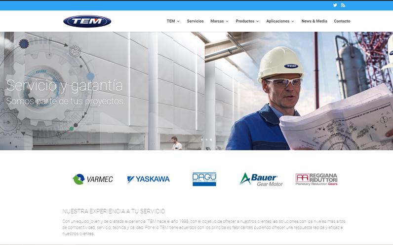 TEM pone en marcha nueva web.
