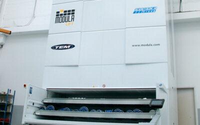 TEM incorpora un nuevo almacén automatizado.