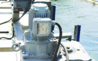 Motorreductores IP68 para tratamiento de aguas de Bauer Gear Motor