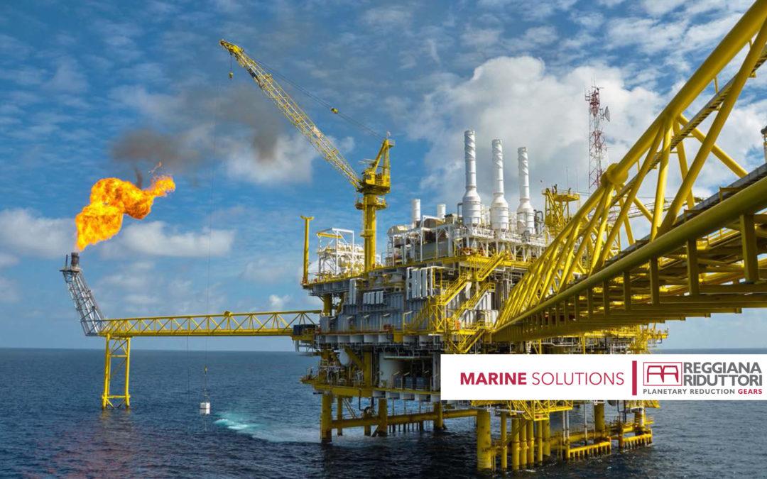 Soluciones marítimas Reggiana Riduttori